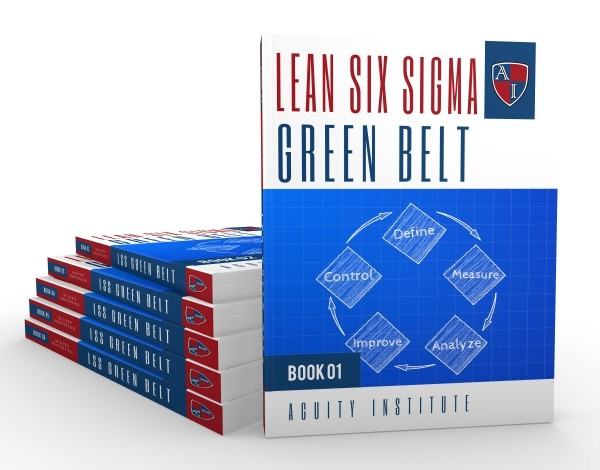 Green Belt Printed Course Books