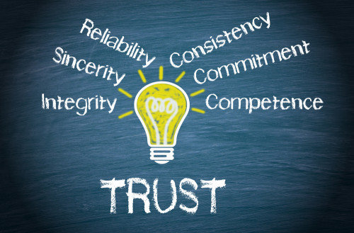 What is the foundation for trust in the workplace?
