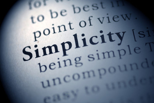 Why you should choose simplicity