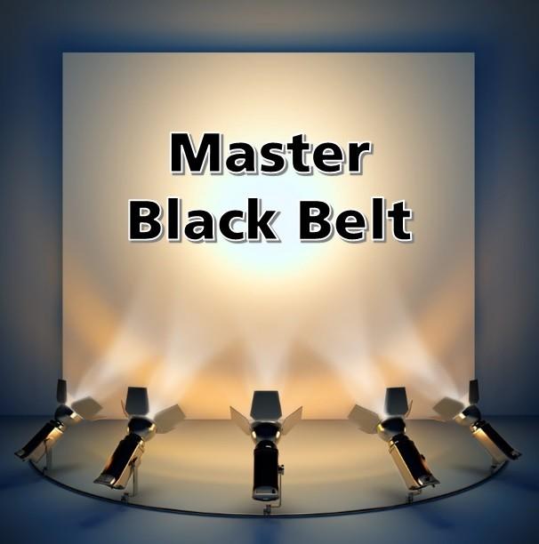 master black belt certification