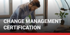 Change Management Certification course icon.