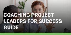 Coaching Project Leaders for Success Guide course icon.