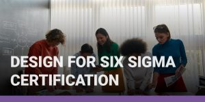 Design for Six Sigma Certification course icon.
