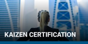 Kaizen Certification course icon.