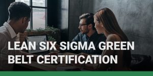 Lean Six Sigma Green Belt Certification course icon.