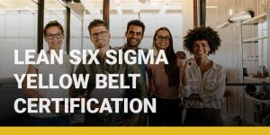 Lean Six Sigma Yellow Belt Certification course icon.