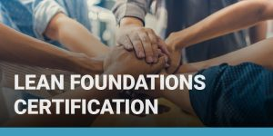 Lean Foundations Certification course icon.