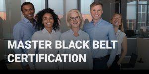 Master Black Belt Certification course icon.
