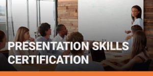 Presentation Skills Certification course icon.