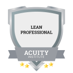 Lean Professional badge.